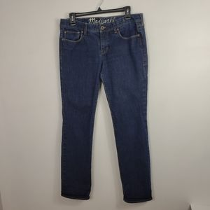 Madewell Rail Straight 31x32 midrise jeans